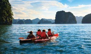 garden bay cruise kayaking